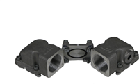 "ASA RAIL CONNECTOR BSP 1 1/4"" SET"