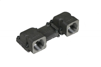 "ASA RAIL CONNECTOR BSP 1 1/4"" SET-2"