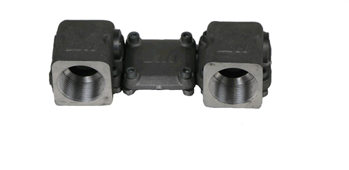 "ASA RAIL CONNECTOR BSP 1 1/4"" SET-3"
