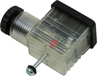STEKKER 22 LED INDICATIE 24 VDC