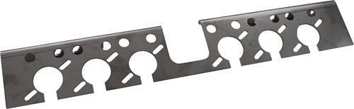 STEUN LICHT & LUCHT RVS TBV CHASSIS FIXING KIT
